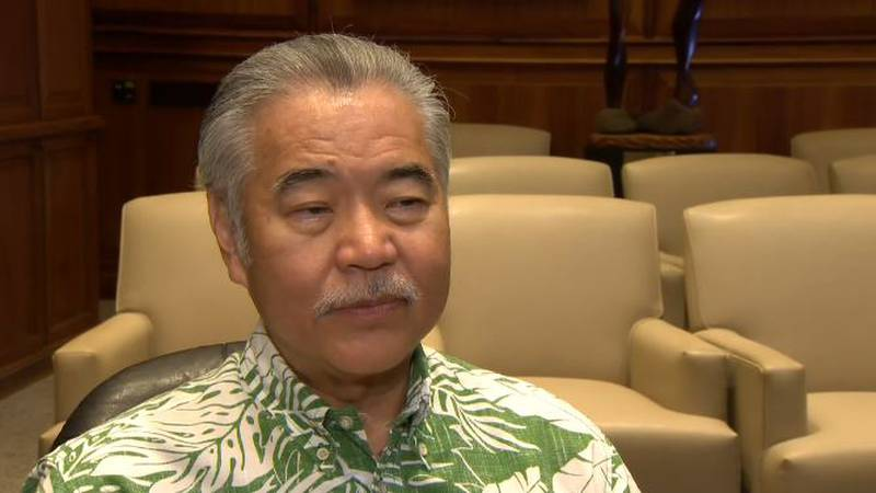Gov. Ige spoke with Hawaii News Now Thursday afternoon, addressing several topics before him.
