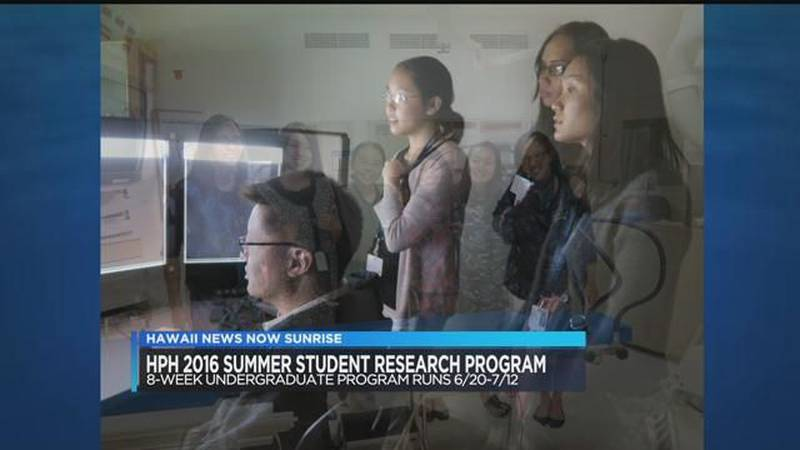 Interview: Hawaii Pacific Health Summer Student Research Program
