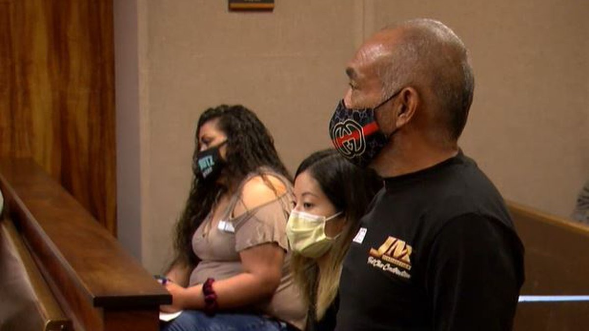 Nelson Hagmoc appeared in court Friday.