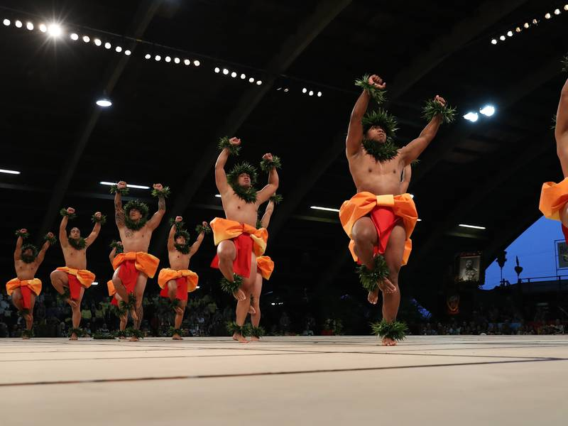 Hālau Keolakapuokalani 2019 Merrie Monarch Hula Kahiko