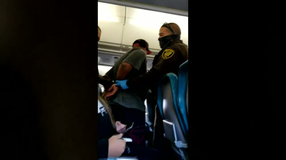 The 32-year-old man charged with assault and interference with a flight crew after allegedly...