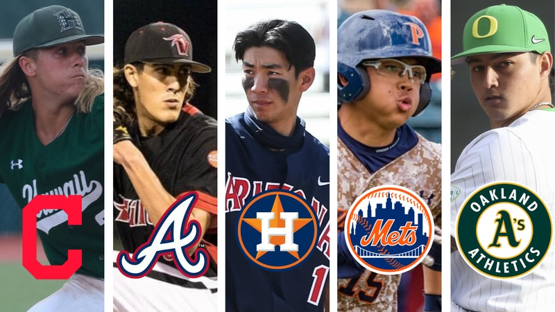 Five players with Hawaii ties taken in 2021 MLB Draft
