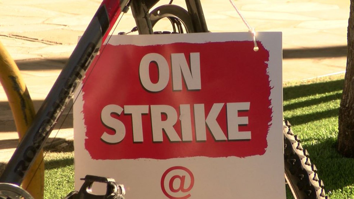 Saturday marks day six of the strike.