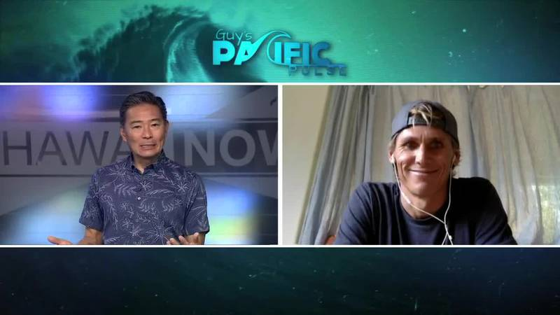 Pacific Pulse: Big wave surfer Jamie Mitchell launches new podcast