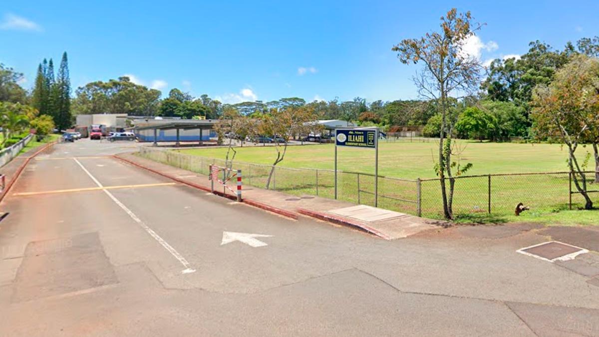 Iliahi Elementary, street view