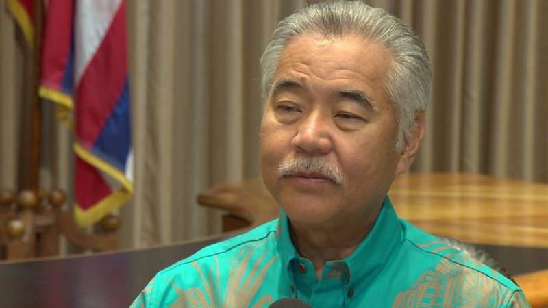 Gov. David Ige spoke to HNN in a one-on-one interview on Tuesday.