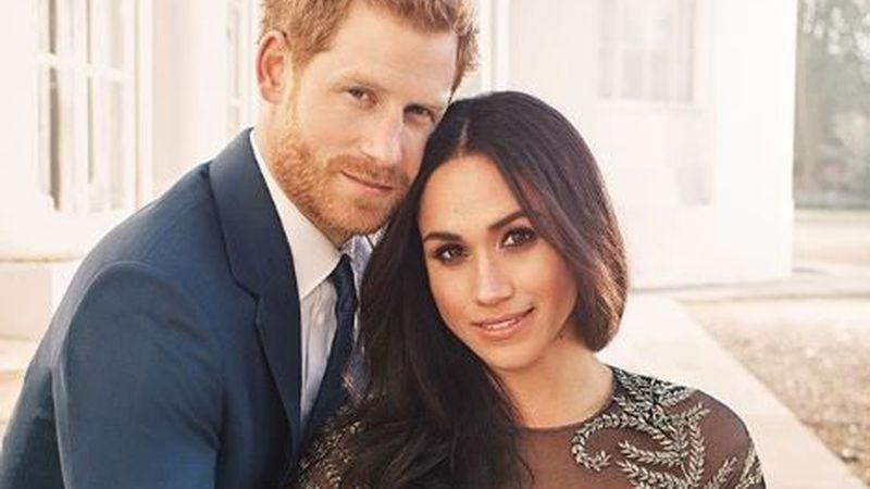 The royal couple! Prince Harry and Meghan Markle will marry Saturday. (Image: @kensingtonroyal)