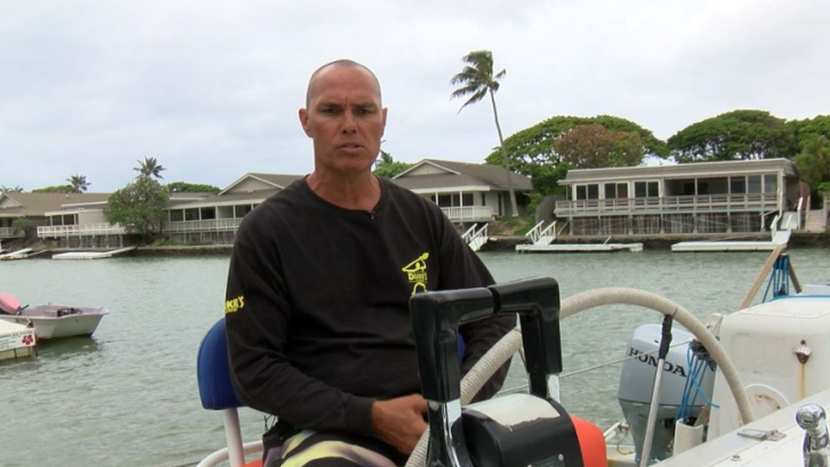 Wyatt Kam filed a previous complaint with the DLNR last year.