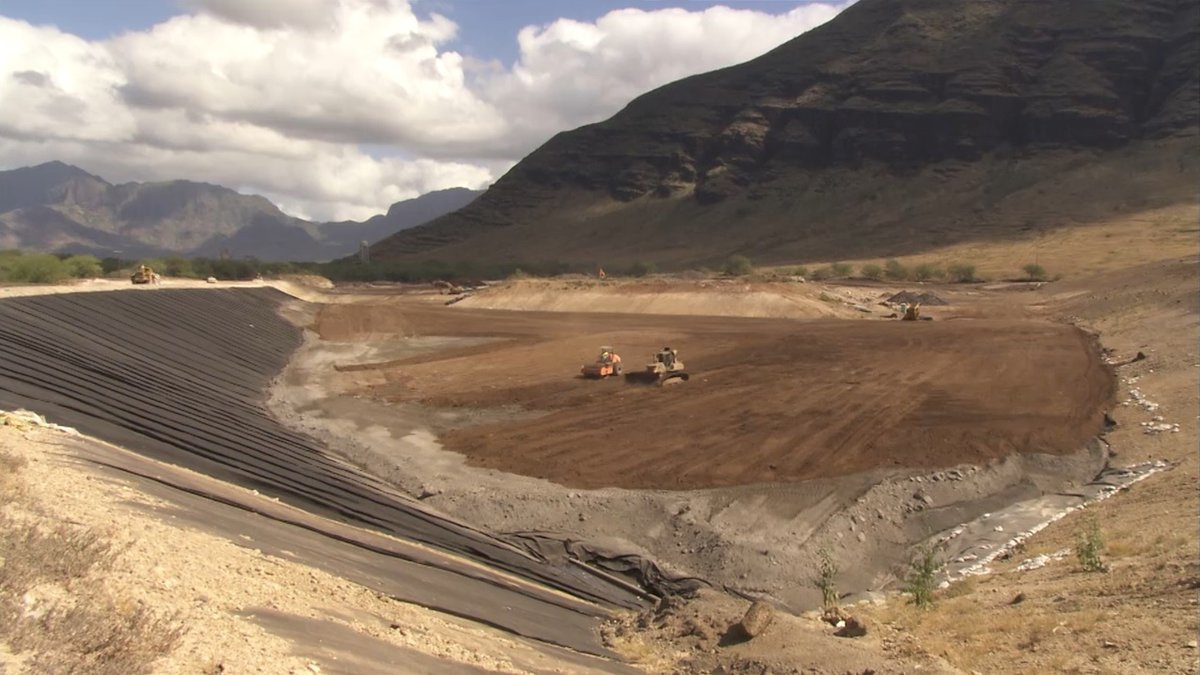 Oahu's only landfill for construction and demolition debris is filling up faster than expected...
