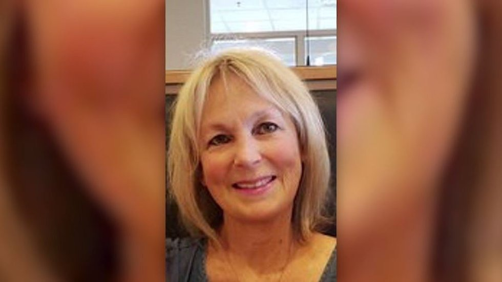"""Candace """"Candy"""" Ayers, 66, died from COVID-19 at an Illinois hospital more than a month after..."""