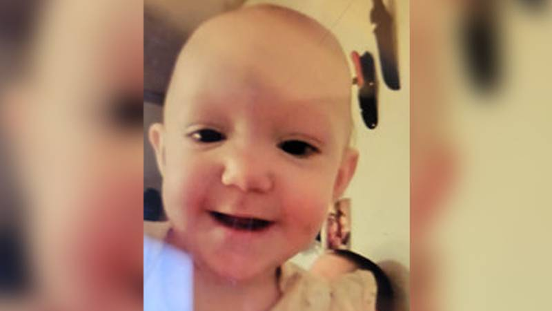 The FBI Indianapolis office said 11-month-old Mercedes Lain had been found dead in Starke...