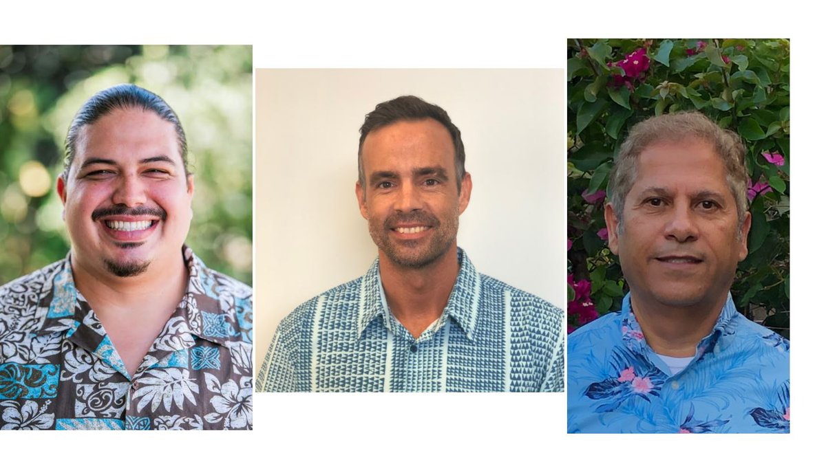 S. Ikaika Rodenhurst, Zendo Kern and Ramzi I. Mansour were tapped for roles in Mayor-elect...