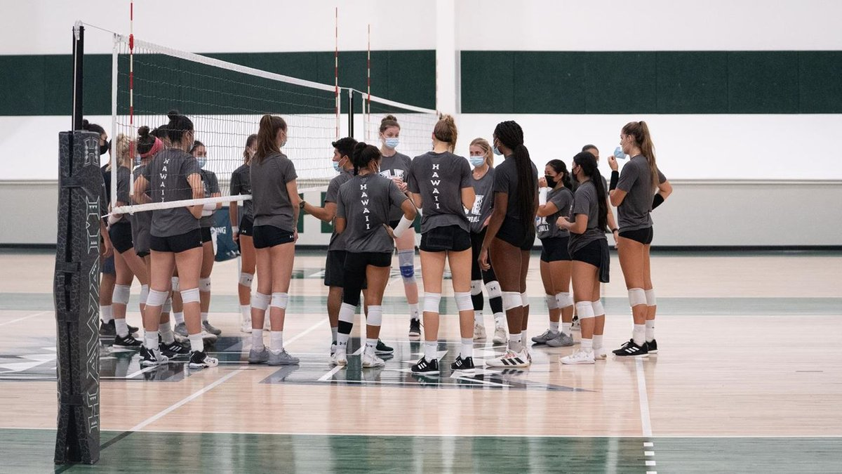 The University of Hawaii Rainbow Wahine volleyball teams makes their long-awaited return to...