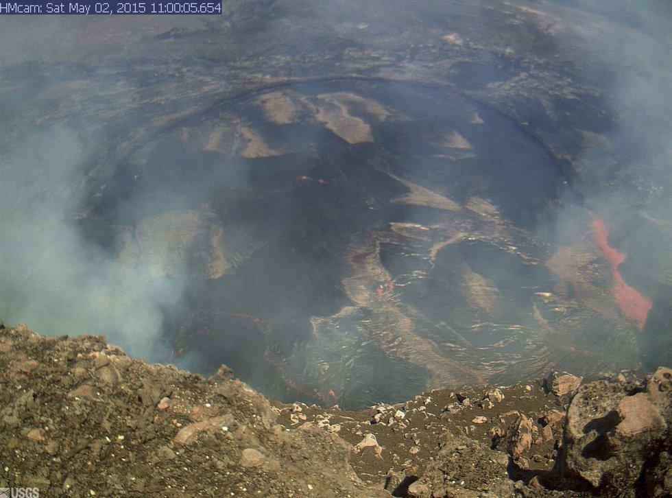 Photo courtesy: Hawaiian Volcano Observatory