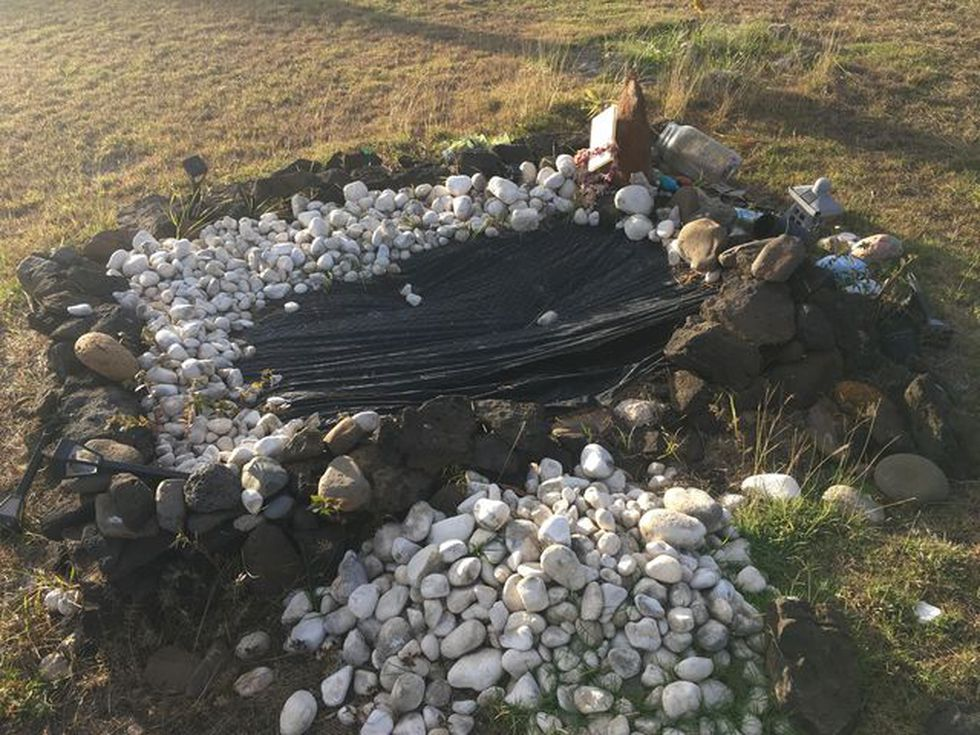 A Kauai mother visited her son's grave, and made a heartbreaking discovery