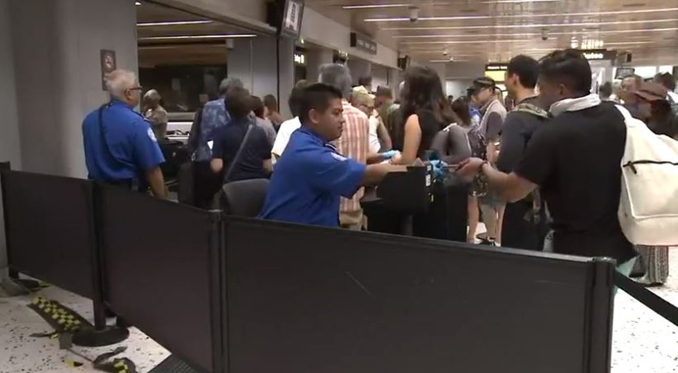 TSA agents in Honolulu, HI, have missed a second paycheck Jan. 25 as a government shutdown...
