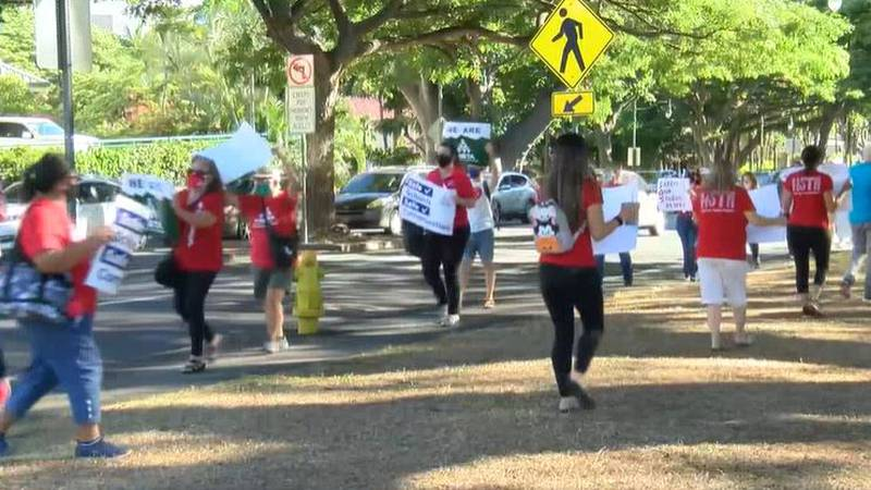 HSTA said growing concerns are causing more teachers to leave their jobs, with some planning to...