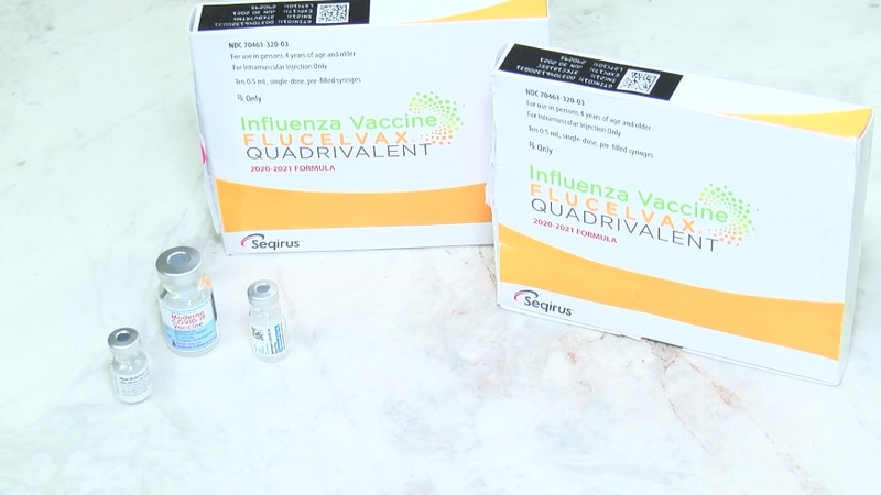 The Centers for Disease Control and Prevention says there is no harm taking the flu shot and...