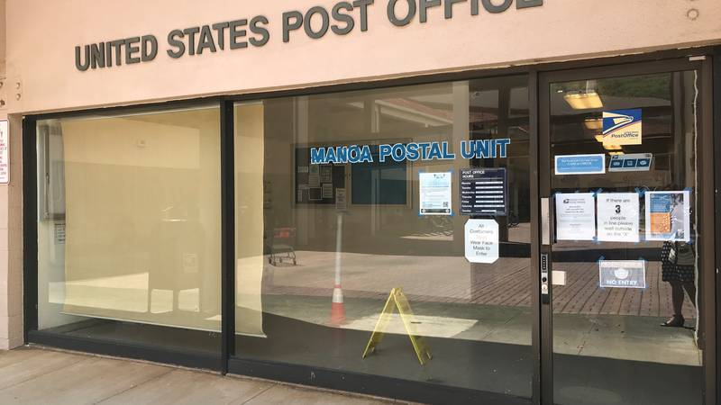 Manoa Post Office slated to close September 30