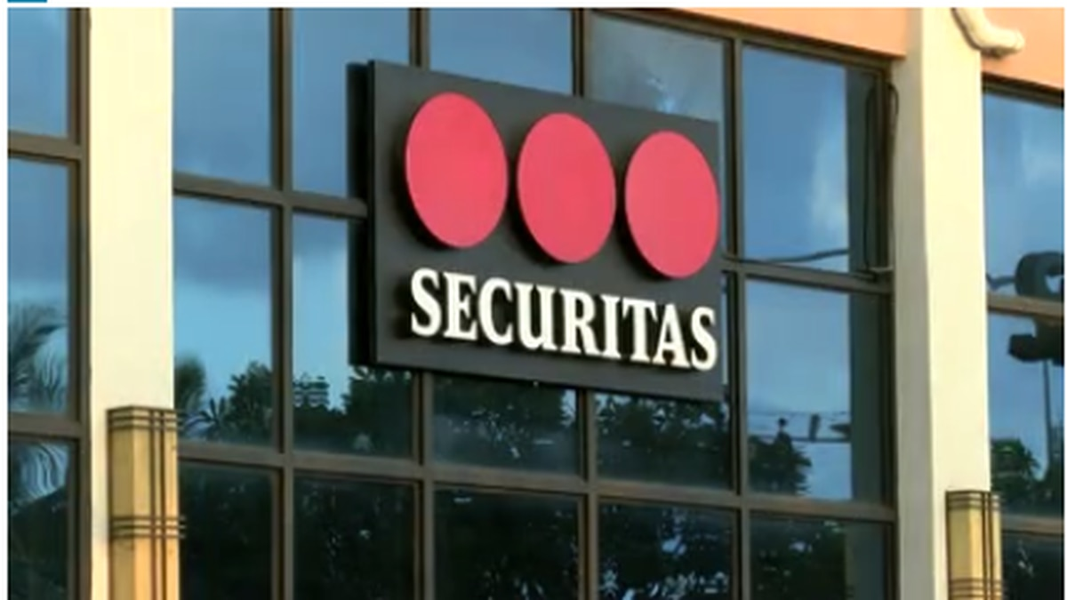 The union representing 1,000 airport security and traffic control workers says Securitas owes...