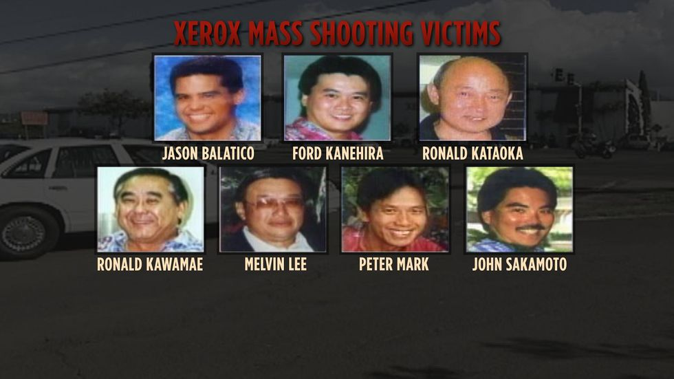The seven victims of the Xerox mass shooting were all men, many of whom had young families.