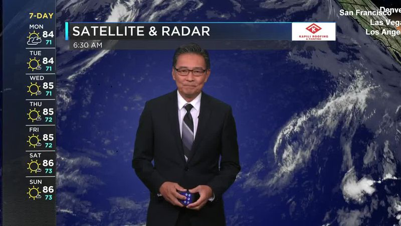 HNN Morning Web Weather Monday, May 17, 2021