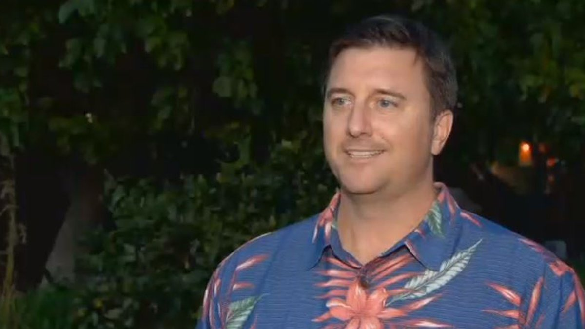 Wes Porter is out as the president and CEO of Damien Memorial School. (Image: Hawaii News Now)