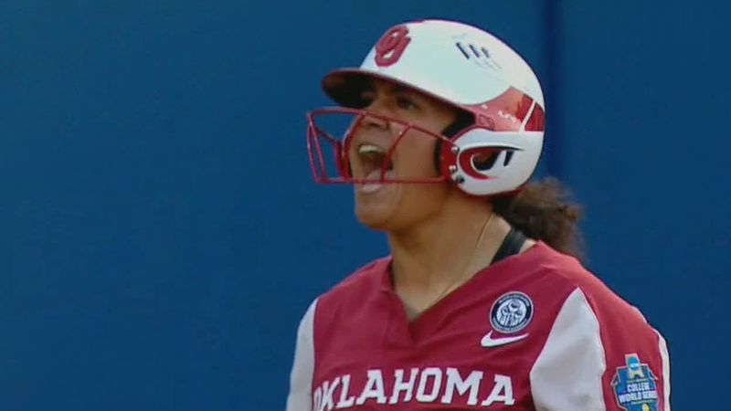 The Oklahoma University softball team rallied on Wednesday to force a third and final game in...