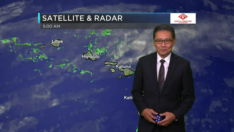Morning Weather Forecast from Hawaii News Now - Wednesday, June 16, 2021