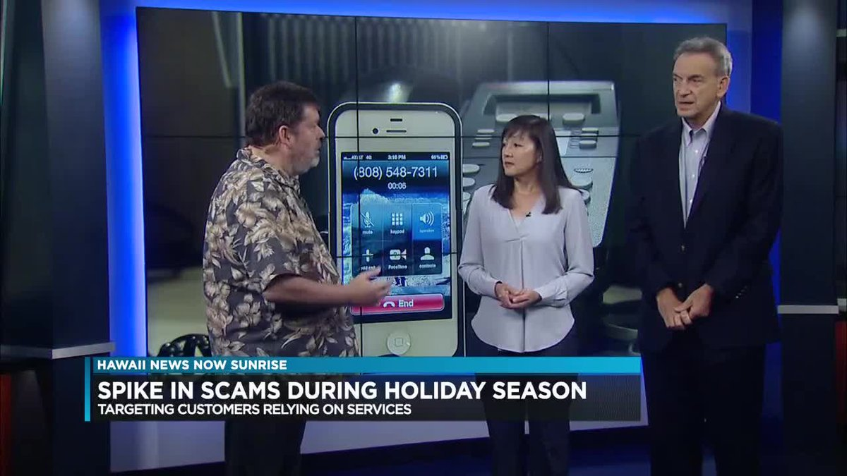 Officials are asking utility customers to be aware of scammers during this holiday season.