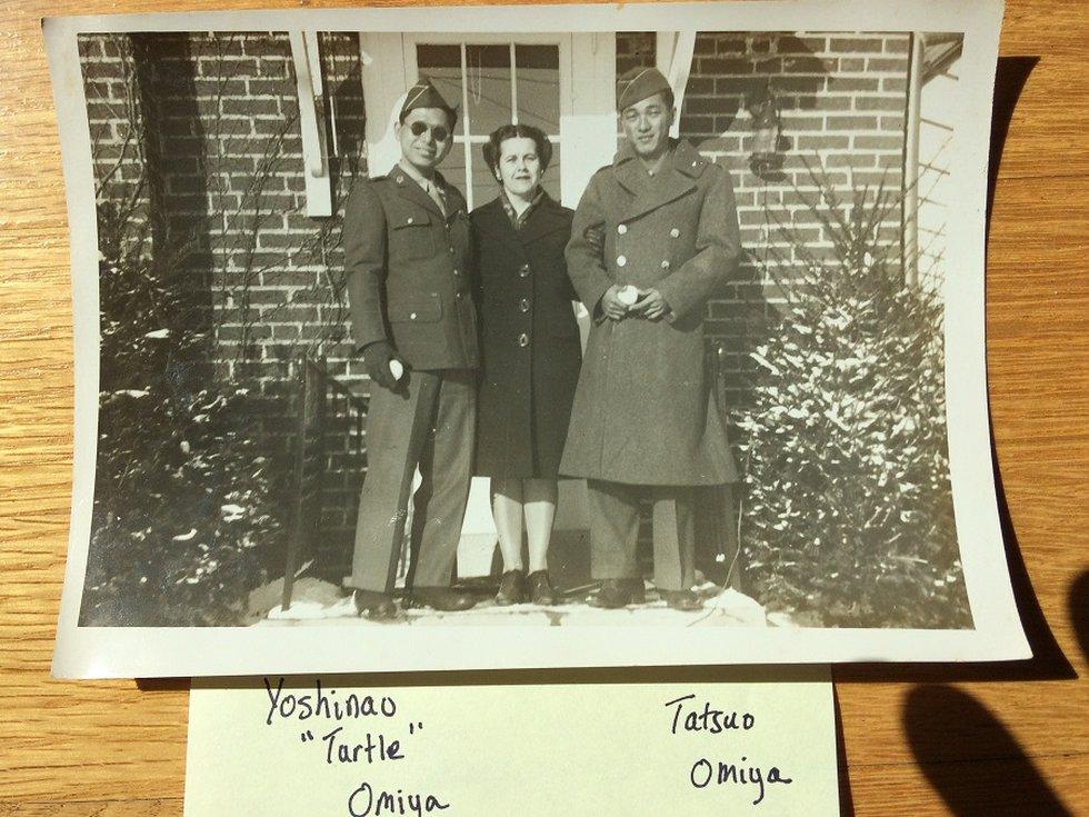 The Omiya brothers during World War II