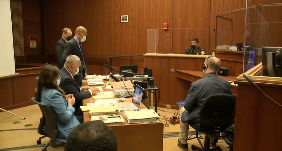 A fellow HPD officer took the witness stand for questioning Wednesday.