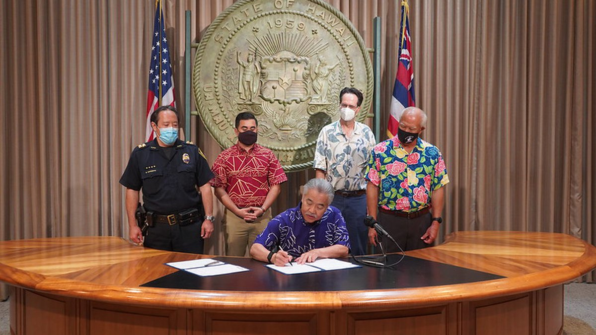 Governor signs House bills into law.