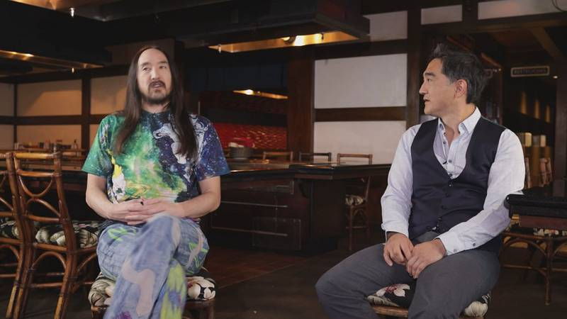 The Aoki brothers are both excelling in the careers, but never forget where they came from.