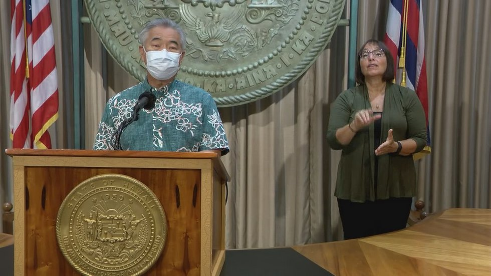 As Hawaii sees record high COVID cases, governor pleads with public to change behaviors