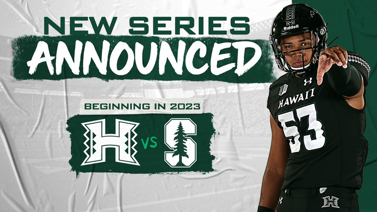 The University of Hawaii and Stanford University are set to collide on the football field for...
