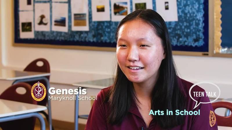 Teen Talk: Arts in School