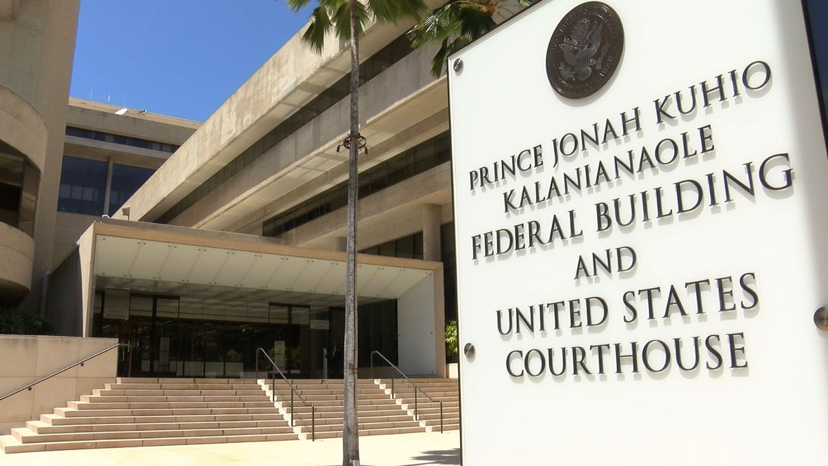 Federal Courthouse. Honolulu, Hawaii.