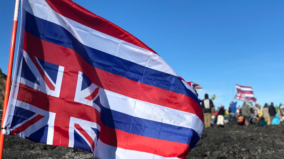Day five of the TMT protests at Mauna Kea.