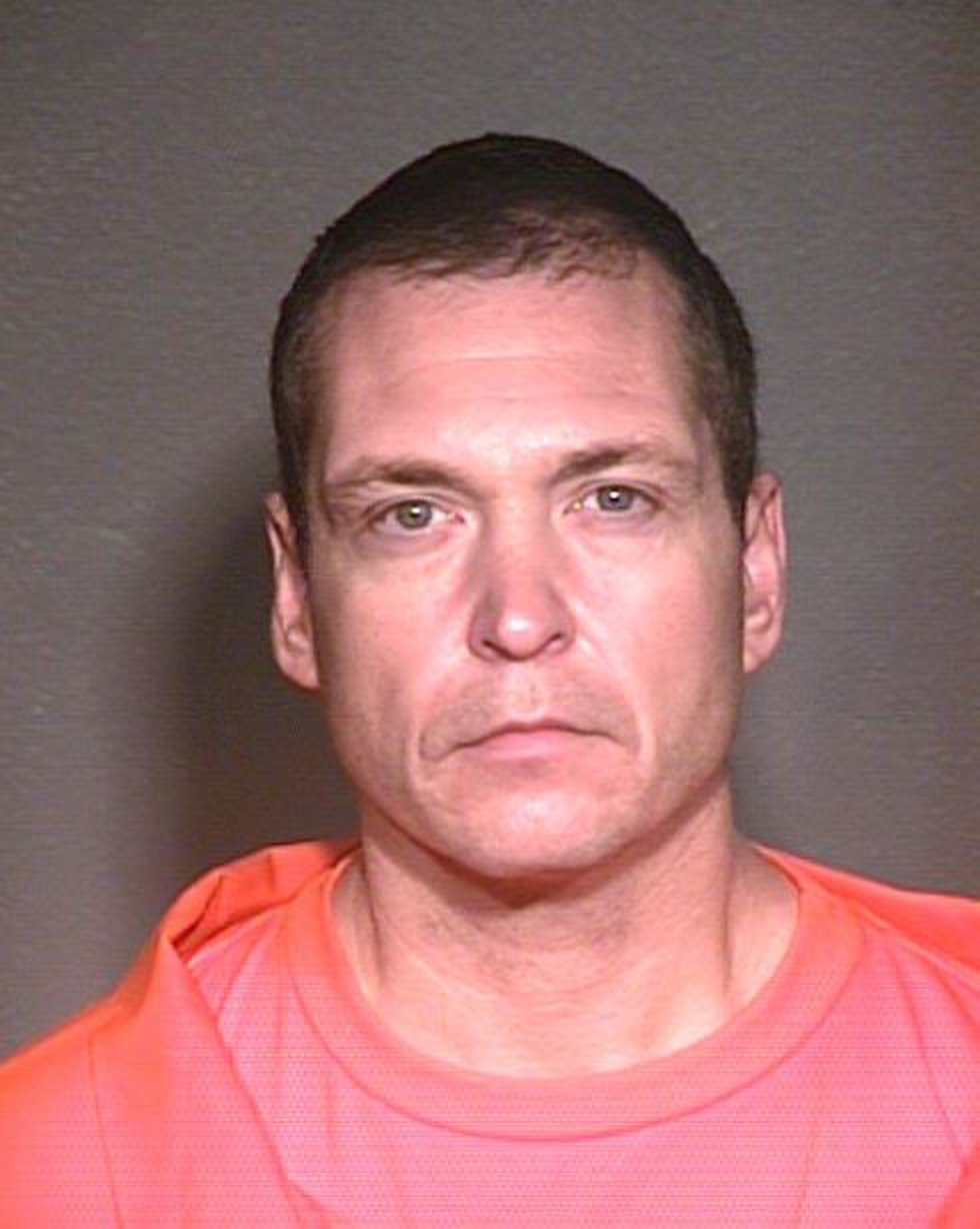 Thomas R. Castleberry after an arrest in Arizona
