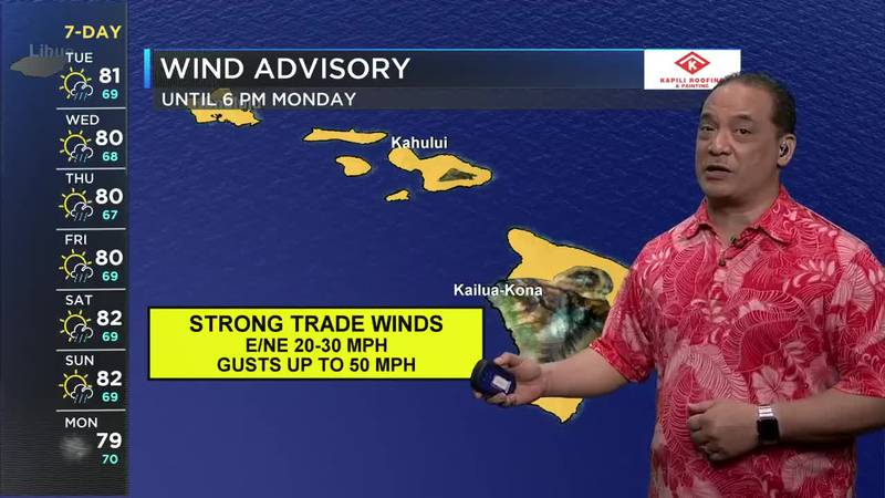 A High Wind Advisory is in effect for most of the state; winds will be 20-30+ mph with possible...