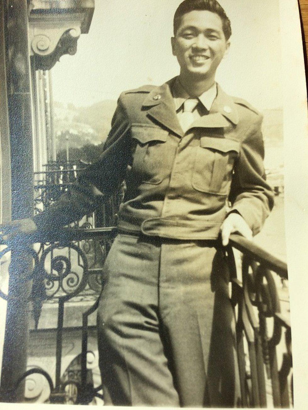 Tatsuo Omiya during World War II