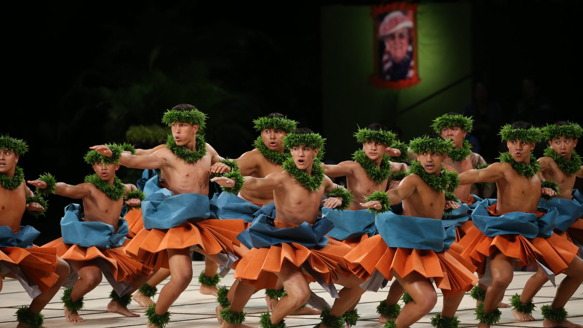 File photo from the 2018 Merrie Monarch Festival at the Edith Kanaka'ole Stadium in Hilo.