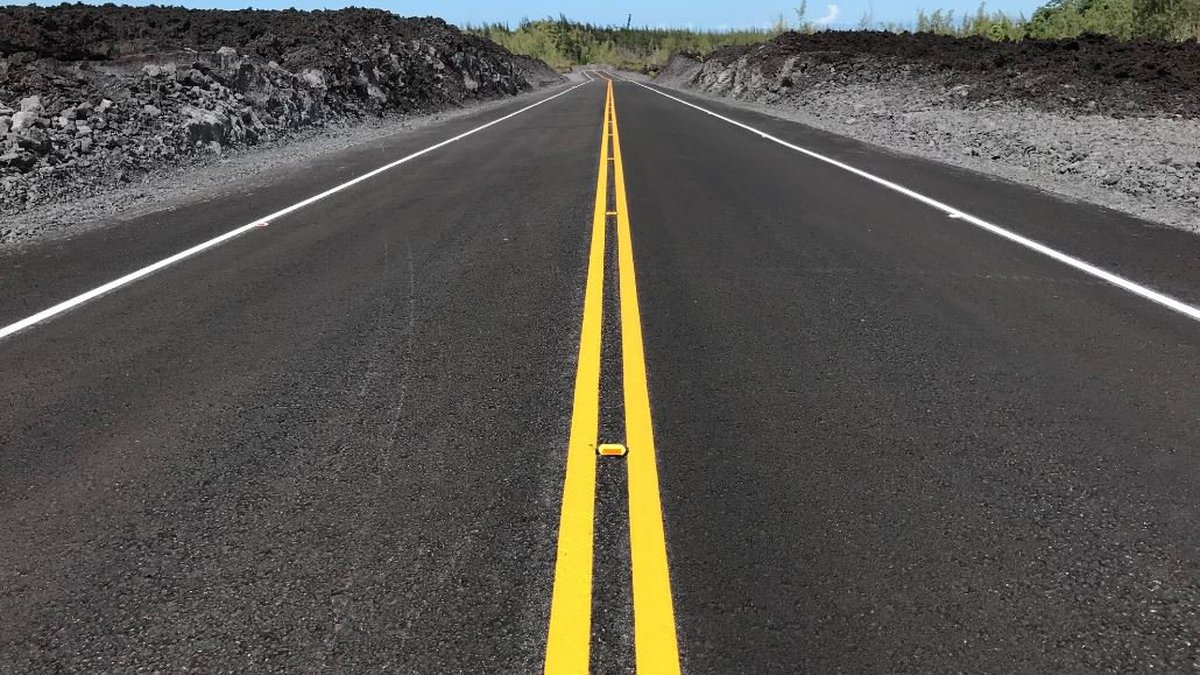Highway 132 is ready for motorists. It will reopen this week.