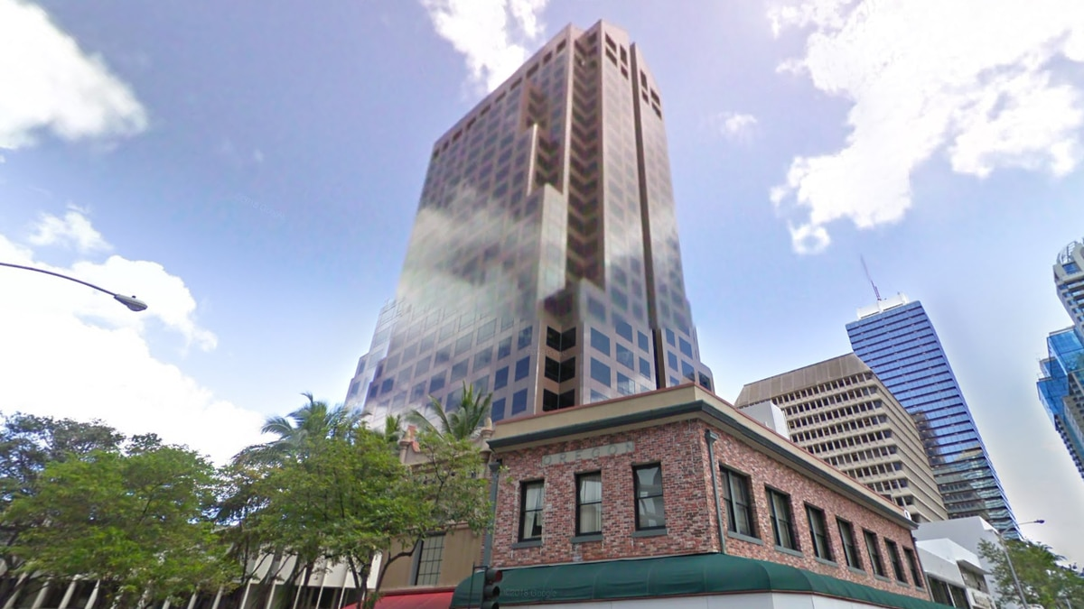 Bishop Place, a 25-story downtown Honolulu office building, is being converted into workforce...