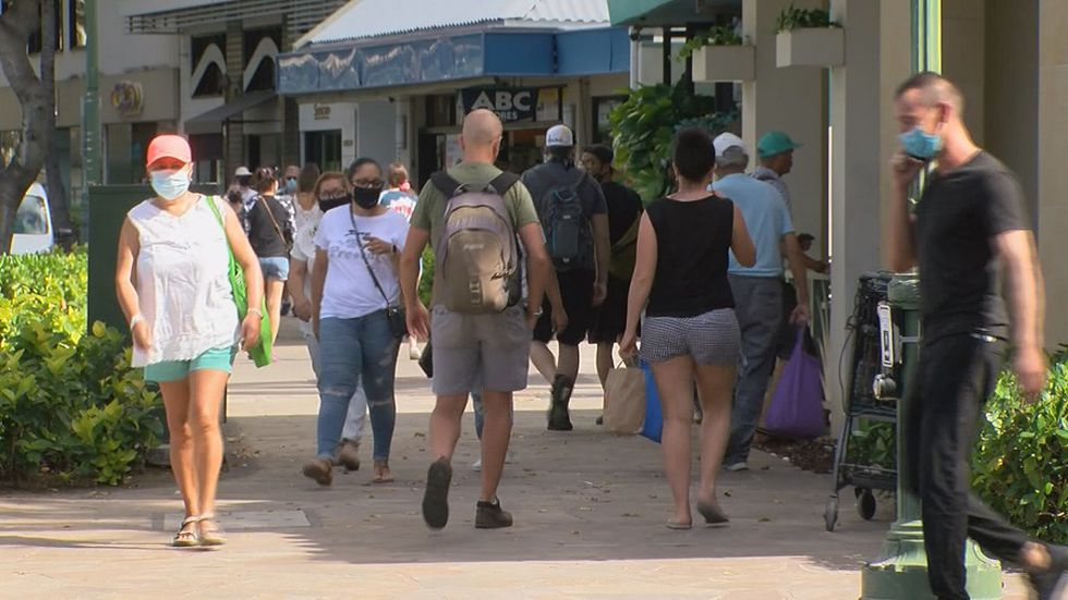 Gov. Ige suggests state could drop all COVID restrictions before reaching 70% vaccination rate - Hawaii News Now