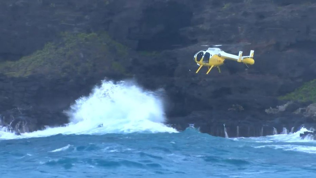 Officials said 23-year old Malik Dobson was last seen at Makapuu on Monday afternoon before he...