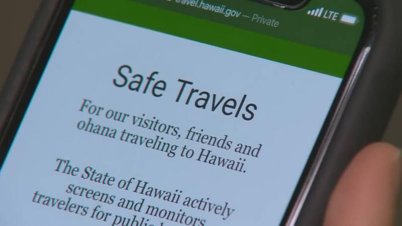 Hawaii's Safe Travels program