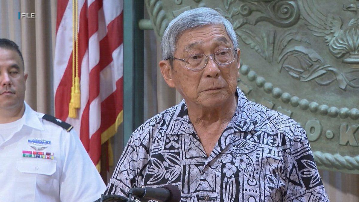 Hawaii County Mayor Harry Kim