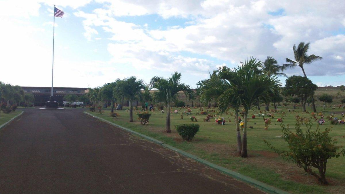 Kauai Veteran's Cemetery in Hanapepe.